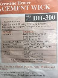 kerosene l wicks 100 images sears kerosene heater