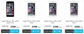 What is iPhone 6 Plus Price in UAE