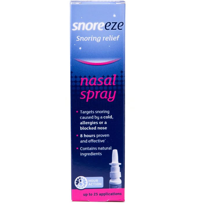 Snoreeze - Snoring Relief Nasal Spray 10ml