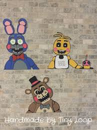 Five Nights At Freddys Wall Decoration Birthday By XTinyLoopx