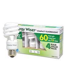 bulbrite 13 watt energy wiser compact fluorescent coil warm white