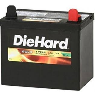 East Penn Manufacturing Diehard Lawn & Garden Battery