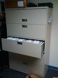 hon 4 drawer file cabinet manual lateral file lock for hon