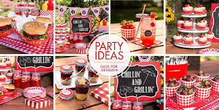 Picnic Party Supplies Ideas