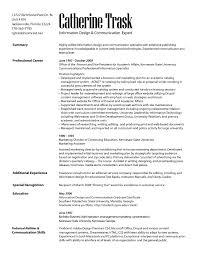Communication Resume Samples