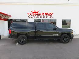 Blacked Out Chevy Sporting LEER 100XQ - TopperKING : TopperKING ...