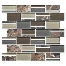 american olean mosaic tile american olean color appeal blends c139 tortoise shell blend 3