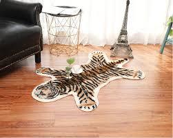 tier teppich nordic stil nachahmung tiger muster wohnzimmer schlafzimmer nacht studie kurze wolle teppich bereich teppich