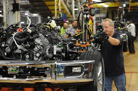 Ford Begins Production Of F-150 At Kansas City Assembly Plant ... Is That A Robot In The Drivers Seat At Fords F150 Plant Ford Begins Production Of Kansas City Assembly Plant Kentucky Truck Motor1com Photos Increases Investment On High Demand Dearborn Pictures Will Temporarily Shut Down Four Plants Including A Classic 1953 F350 Pickup Truck With Twin Cities From Scratch 2012 Lariat 4x4 Ecoboost Trend Schedules Downtime 2 Michigan Assembly Plants Amid Slowing Tour And Images Getty Begins Production Claycomo The Star Next Level Stormwater Management Facts About