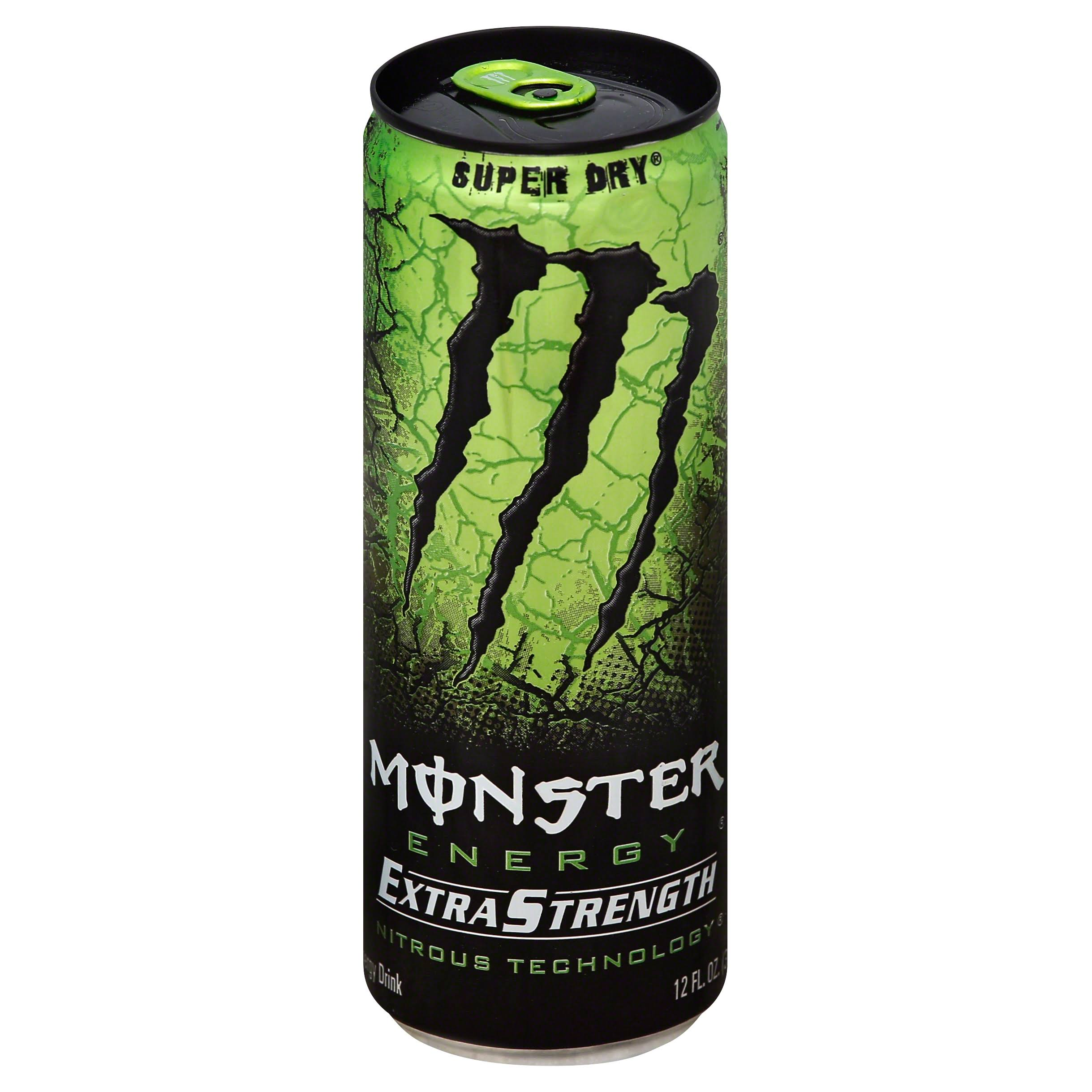 Monster Energy Drink - Extra Strength Nitrous Technology, 12oz