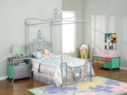 Twin Metal Canopy Bed Pewter With Curtains by Twin Canopy Beds Twin Canopy Bed With Trundle Twin Bed Canopy