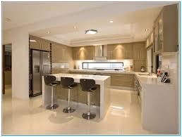 U Shaped Kitchen No Island