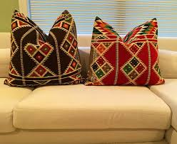 Kilim With No Pillow Insert. Size 24x24