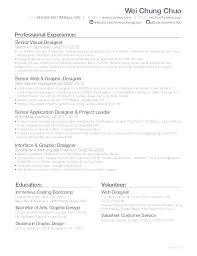 Web Developer Resumes Developers Resume Sample India