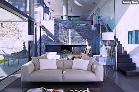 moderne elegante innenausstattung wohnzimmer moderne haus
