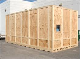 Industrial Wooden Shipping Crate Manufacturing
