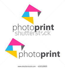 Abstract Photo Frame Color CMYK Printing Services Express Print Copy Media