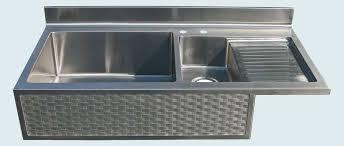 Farmhouse Sink With Drainboard And Backsplash by Sink With Drainboard Apron Front Farm Sink Drainboard Concrete