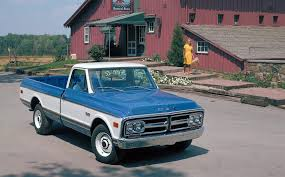 100 1972 Gmc Truck GMC C2500 Wideside Pickup CE25934