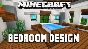 Minecraft Tutorial How To Make A Modern Bedroom Design House Build Ep 15