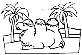 Free Coloring Pages Of Alice The Camel