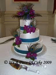 21 of 21 Peacock Wedding Cakes 17