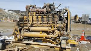 100 Truck Engine Caterpillar 3516 V16 3500 Series 793 Haul Mining Diesel