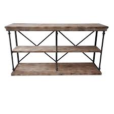 Walmart Metal Sofa Table by Crestview La Salle Metal And Wood Console Table Cvfzr1499