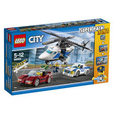 100 Lego City Tow Truck 66550 Police Super Pack 3 In 1 Includes 60136 60137