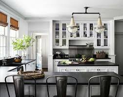 The Kitchen Cabinets Are Painted In Paint Color Dimpse By Farrow And Ball