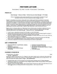 Sales Director Resume Regional Examples It Manager Of Resumes Awesome Sample