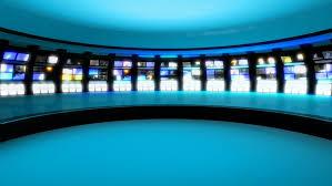 Broadcast Studio Footage Stock Clips