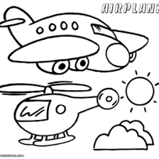 Airplane Coloring Pages To Download And Print