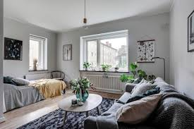 kleine einzimmerwohnung einrichten wohn und schlafraum