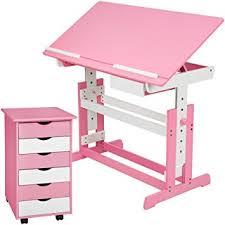 hauteur bureau enfant tectake bureau enfant hauteur réglable inclinable 109x55cm avec