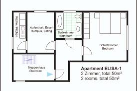 elisa apartment 2 rooms 50 m2 term apartment in