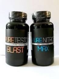 Sports Vitamins And Minerals PURE TESTO BLASTTestosterone Booster NITRO MAX NO2 Nitric Oxide NEW