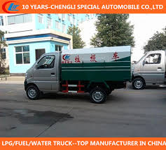 China 4X2 Garbage Truck Mini Rubbish Truck Smart Gasoline Rubbish ...