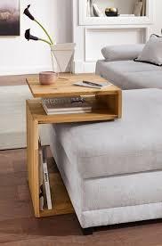 beistelltisch aus massivholz wohnzimmer ideen klein