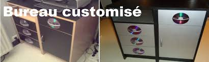 bureau customisé customisé