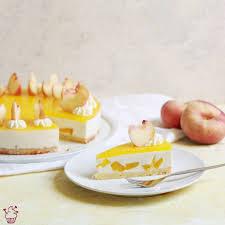 pfirsich joghurt torte sahnehäubchen