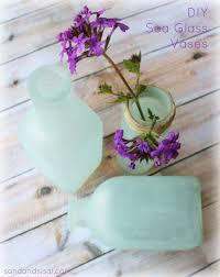 Pottery Barn Sea Glass Bathroom Accessories by Diy Sea Glass Vases Glass Pottery And Barn