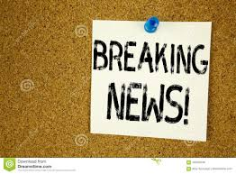 Download Conceptual Hand Writing Text Caption Inspiration Showing Breaking News Business Concept For Newspaper