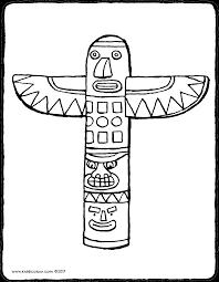 Totem Kiddicoloriage