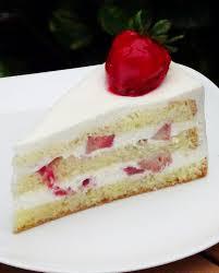 Strawberry Shortcake slice