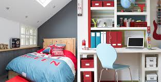 Blue Red Boys Room 2018 Bedroom Decor Design