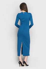 niagara midi slit sheath dress