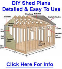 10x14 Garden Shed Plans by 72 Best Storage Shed Plans Images On Pinterest Backyard Makeover