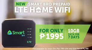 Home Wifi Service Plans Awesome Smart Bro Lte Home Wifi Device
