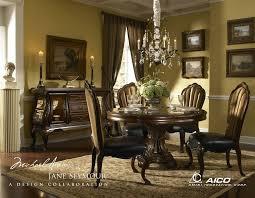 White Formal Dining Room Sets Elegant Round